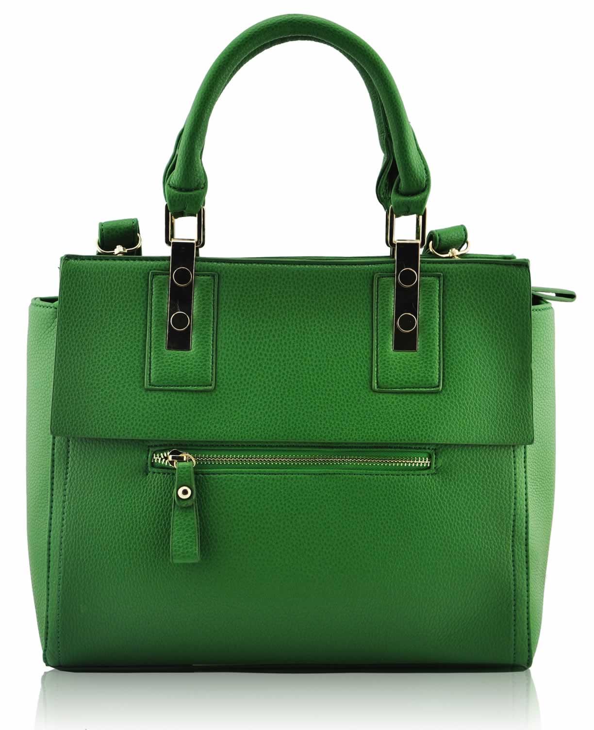 Wholesale Green Fashion Tote Handbag