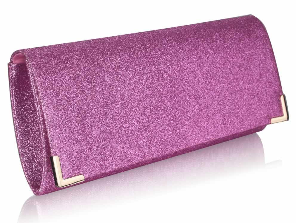 Wholesale Pink Satin Clutch Bag