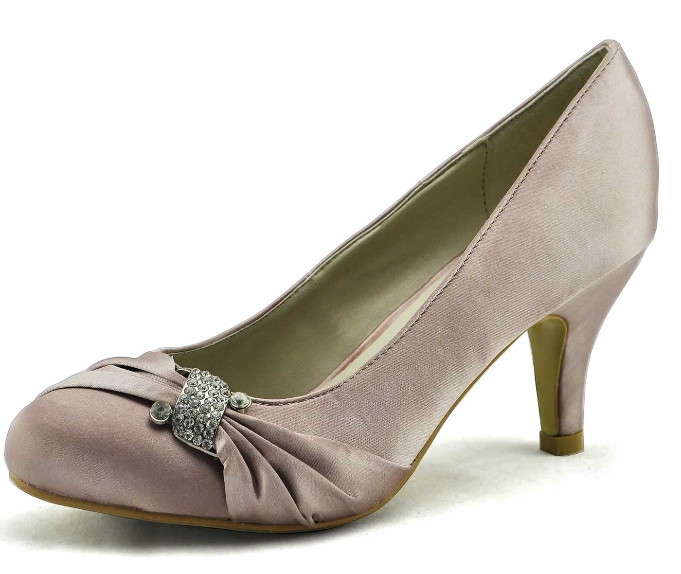 Nude Satin Shoes 79