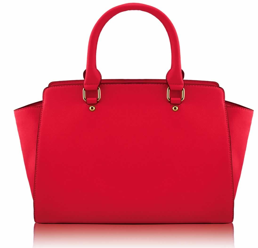 Wholesale Red Grabtote Handbag