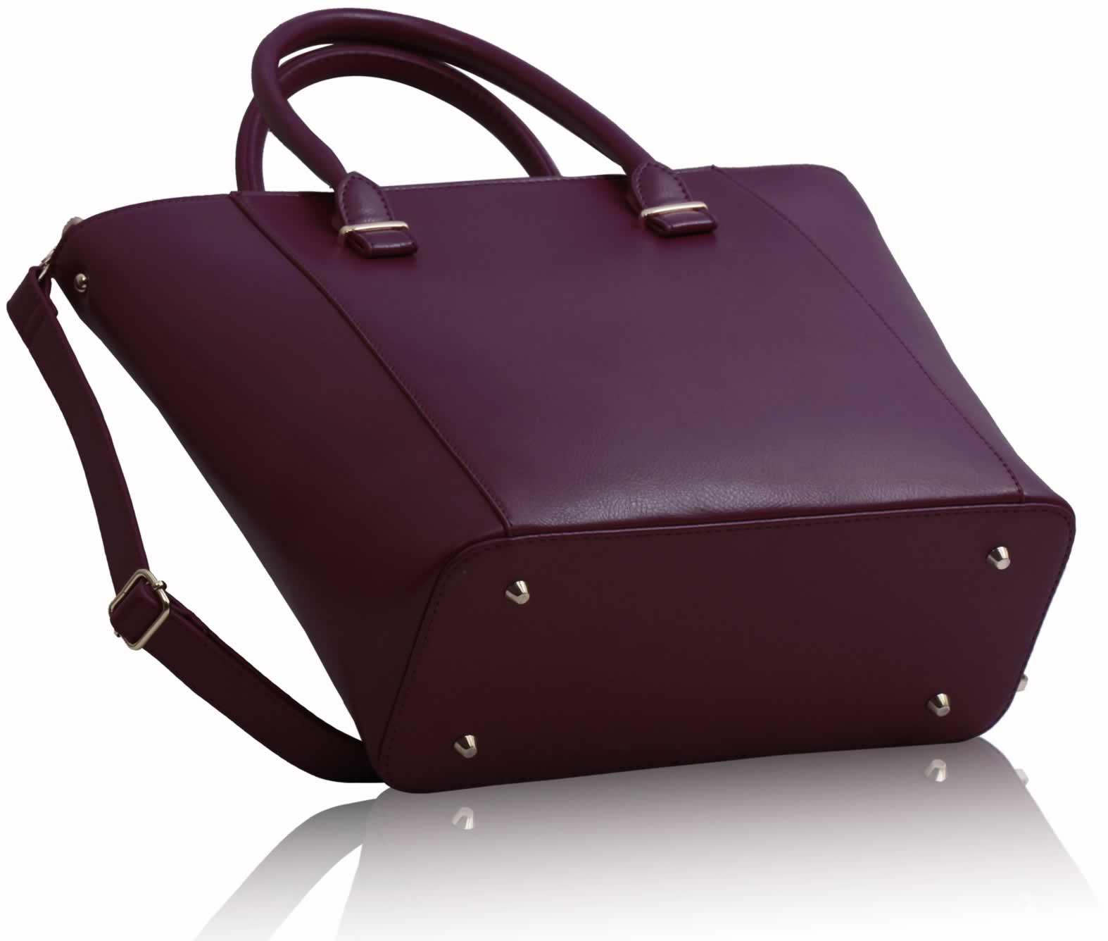Wholesale Luxury Burgundy Tote Bag