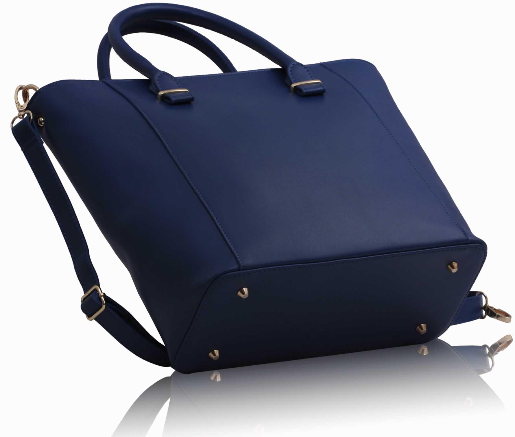 Wholesale Luxury Navy Tote Bag