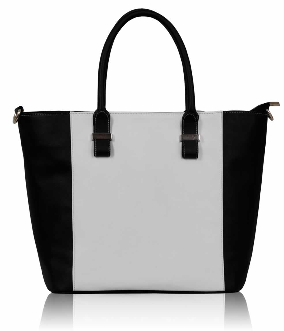 0d302524b3e Wholesale Luxury Black / White Tote Bag