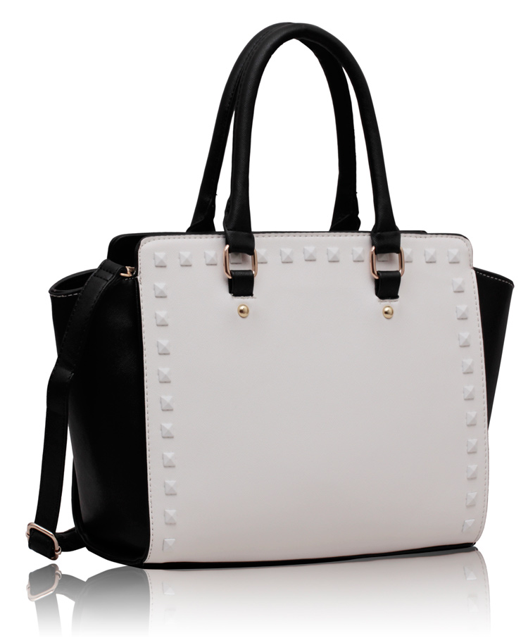 Black and White Handbags
