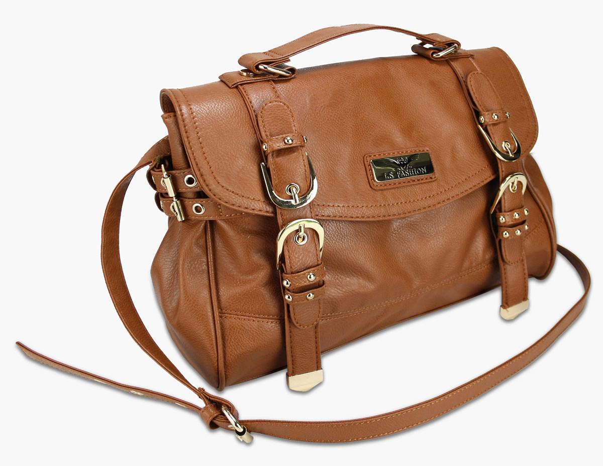 Handbag with Long Strap