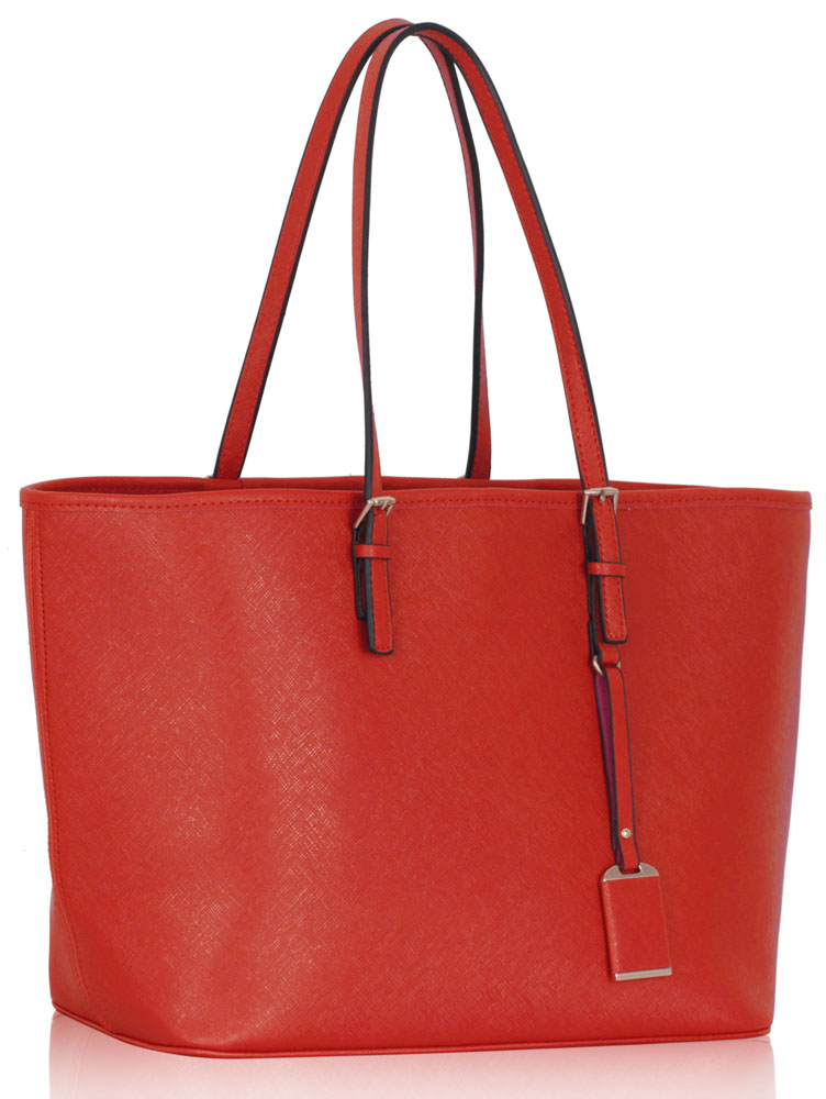 LS00297  -  Kabelka Červená barva