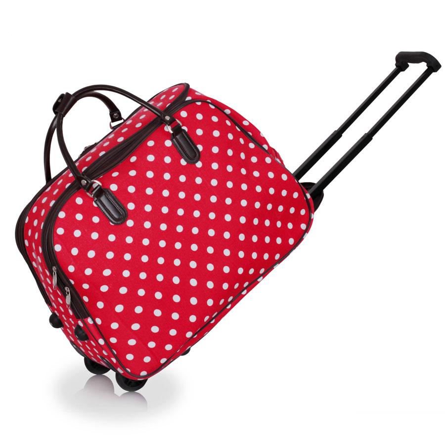 AGT00309  -  Cestovní taška Červená barva
