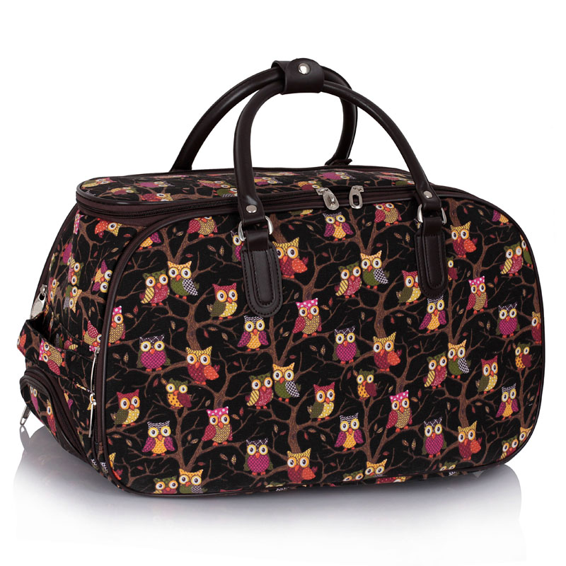 AGT00308  -  Cestovní taška Černá barva