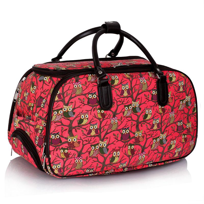 AGT00308  -  Cestovní taška Červená barva