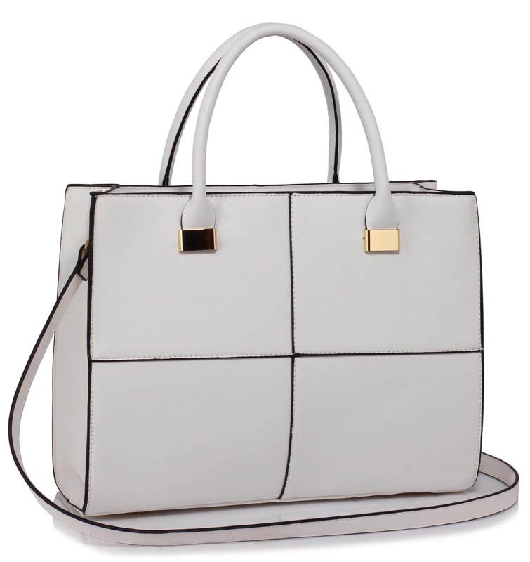 LS00153XL  -  Kabelka Bílá barva