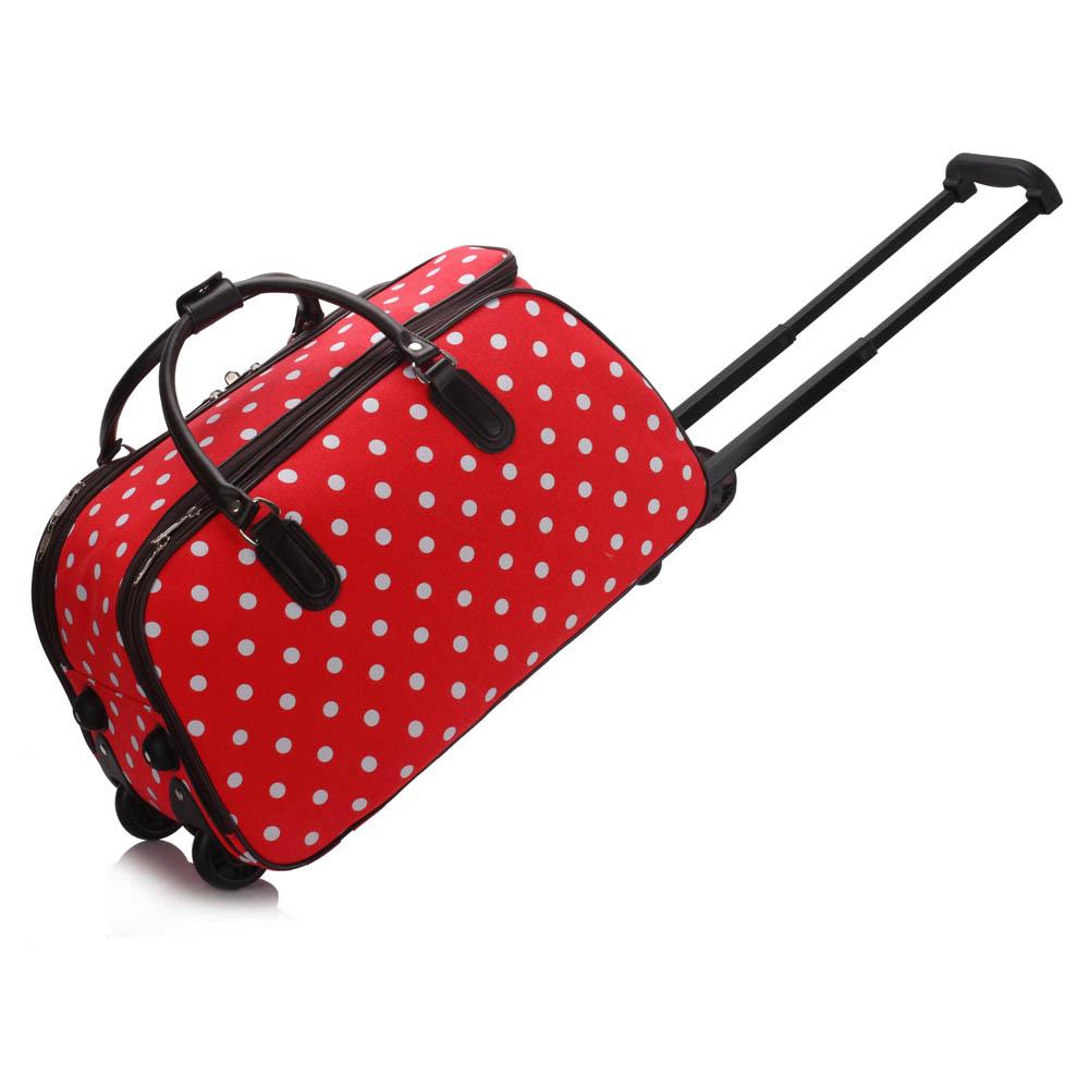 AGT00308D  -  Cestovní taška Červená barva