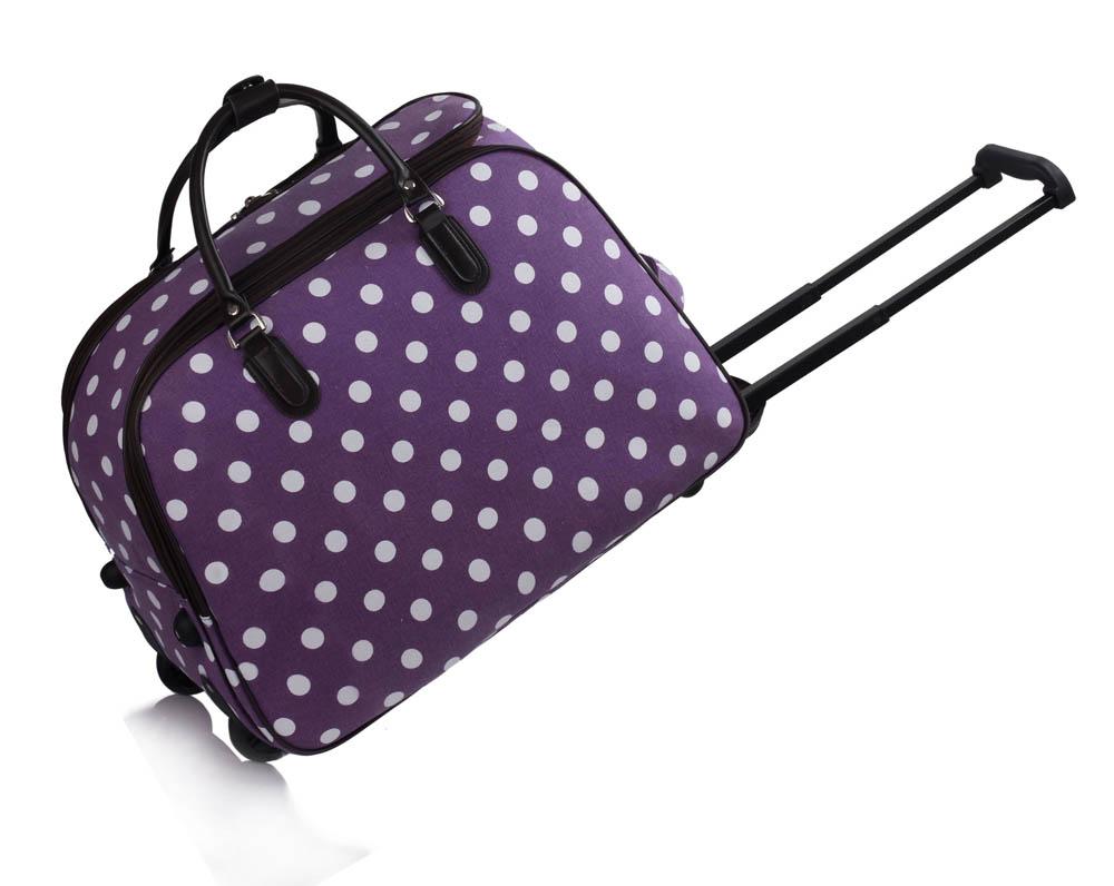 AGT00309  -  Cestovní taška Fialová barva