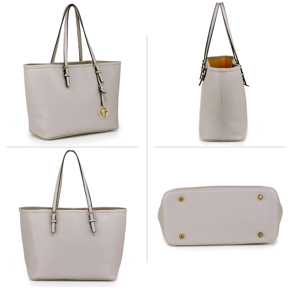 AG00297 - Grey Women s Large Tote Bag 758304d609