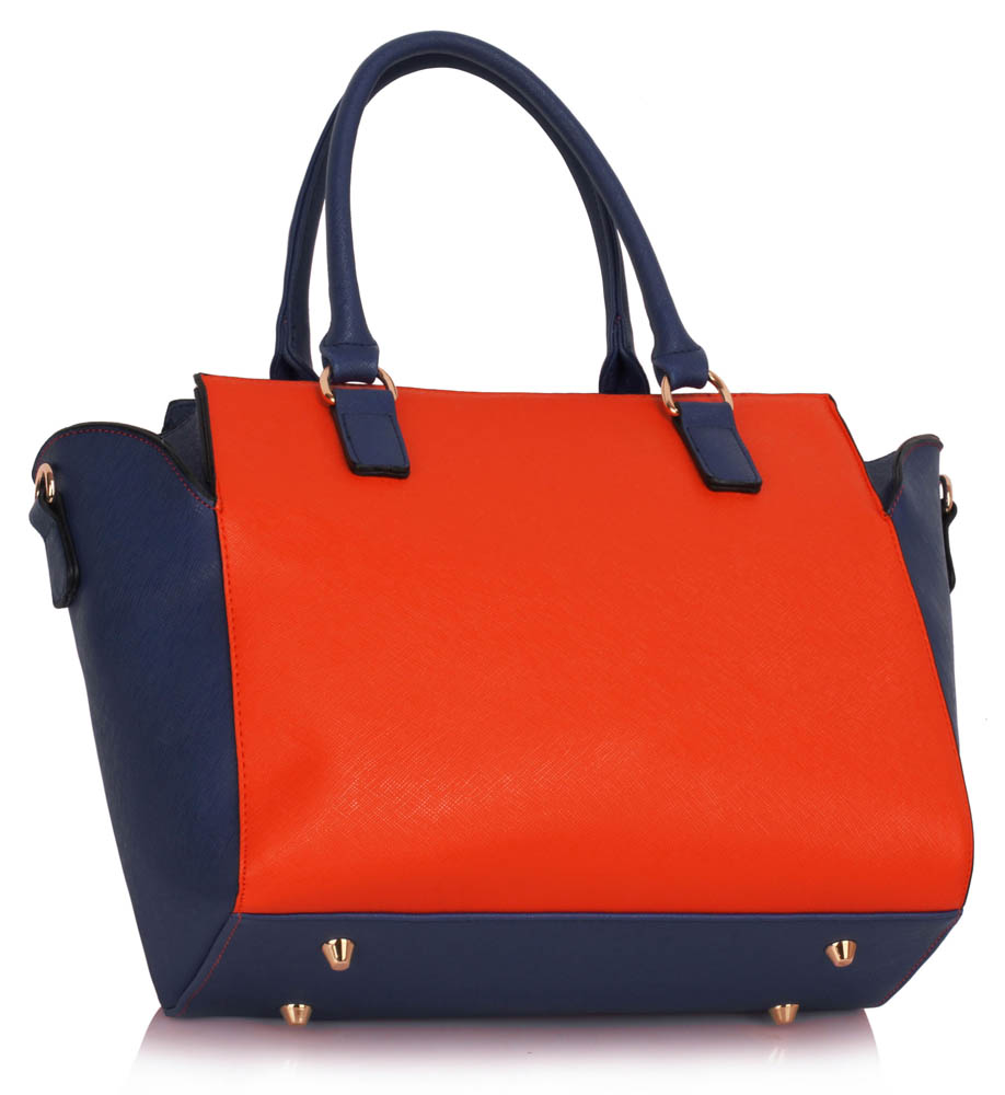Wholesale Blue Orange Tote Bag