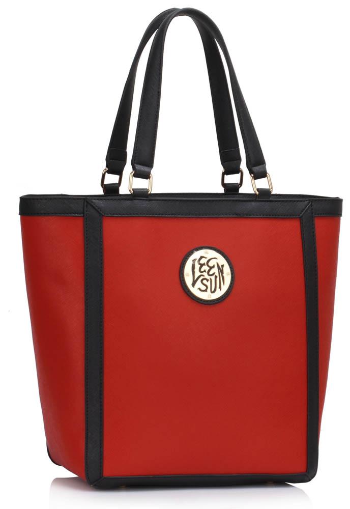 LS00401  -  Kabelka Červená barva