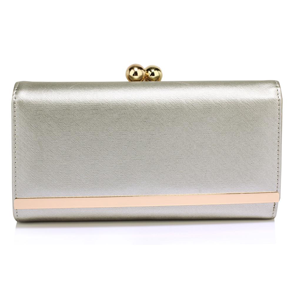 AGP1050A  -  Peněženka Stříbrná barva