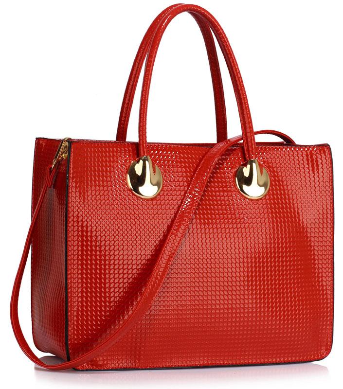 LS00394A  -  Kabelka Červená barva