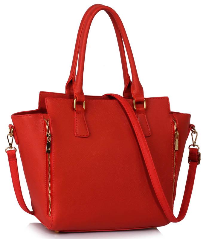 LS00314A  -  Kabelka Červená barva