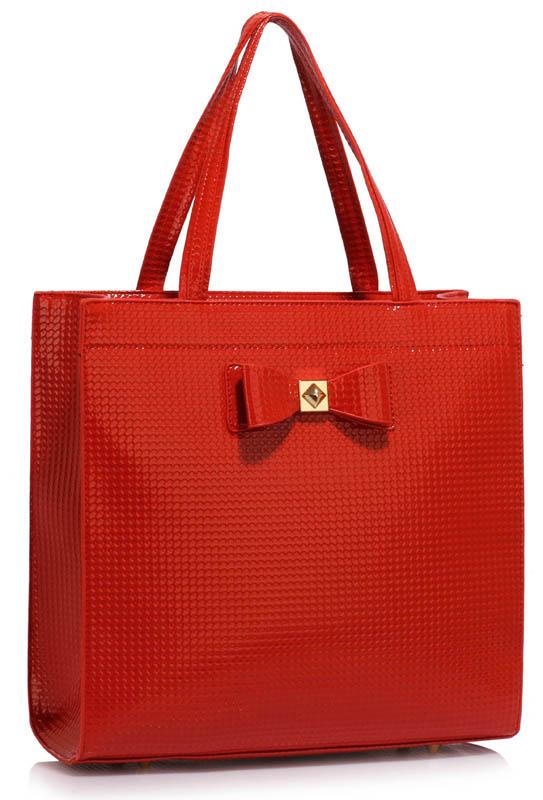 LS00383A  -  Kabelka Červená barva