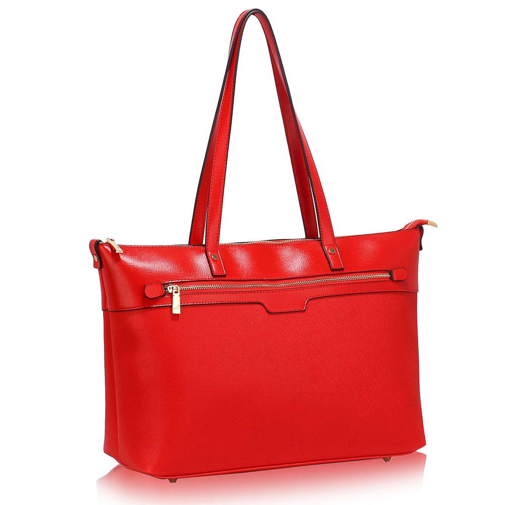 LS00121  -  Kabelka Červená barva