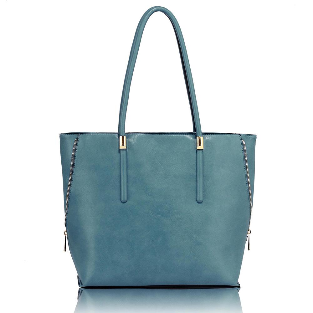 AG00494  -  Kabelka Modrá barva