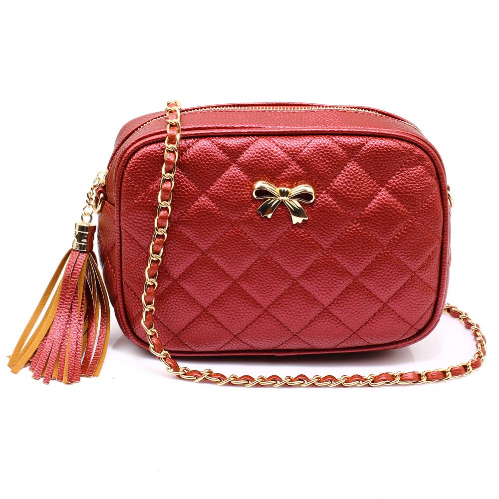 323098ed70a6 AG00540 - Red Canvas Cross Body Bag School Messenger Shoulder Bag
