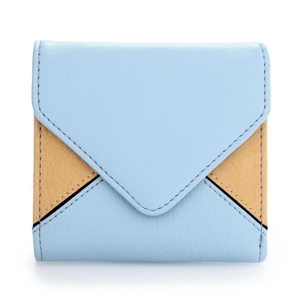 AGP1087  -  Peněženka Modrá/Béžová barva