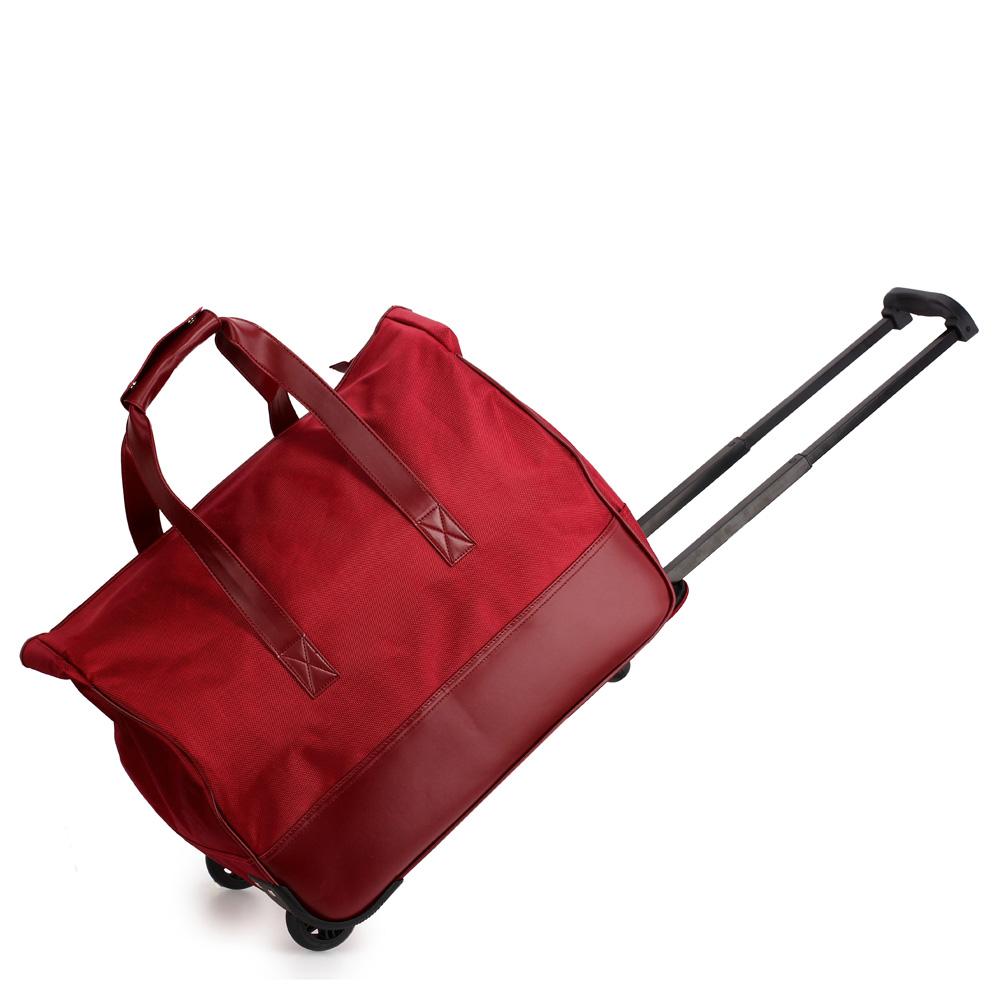 AGT0018  -  Cestovní taška Vínová barva