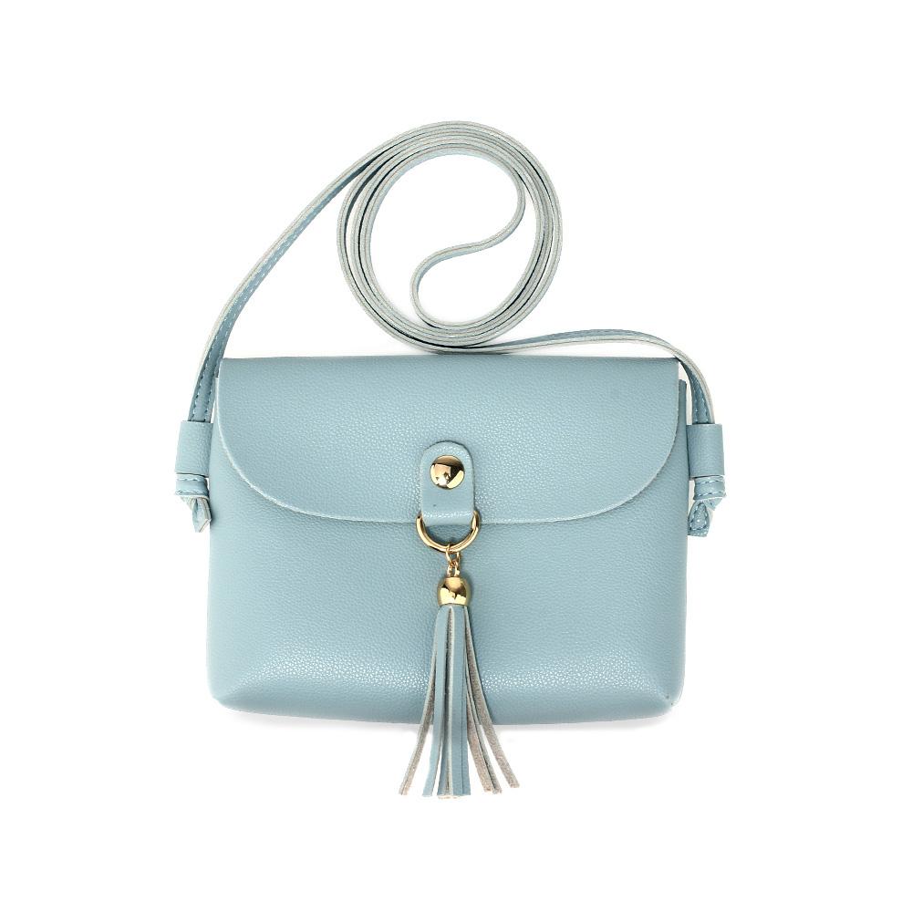 AG00597  -  Kabelka Modrá barva