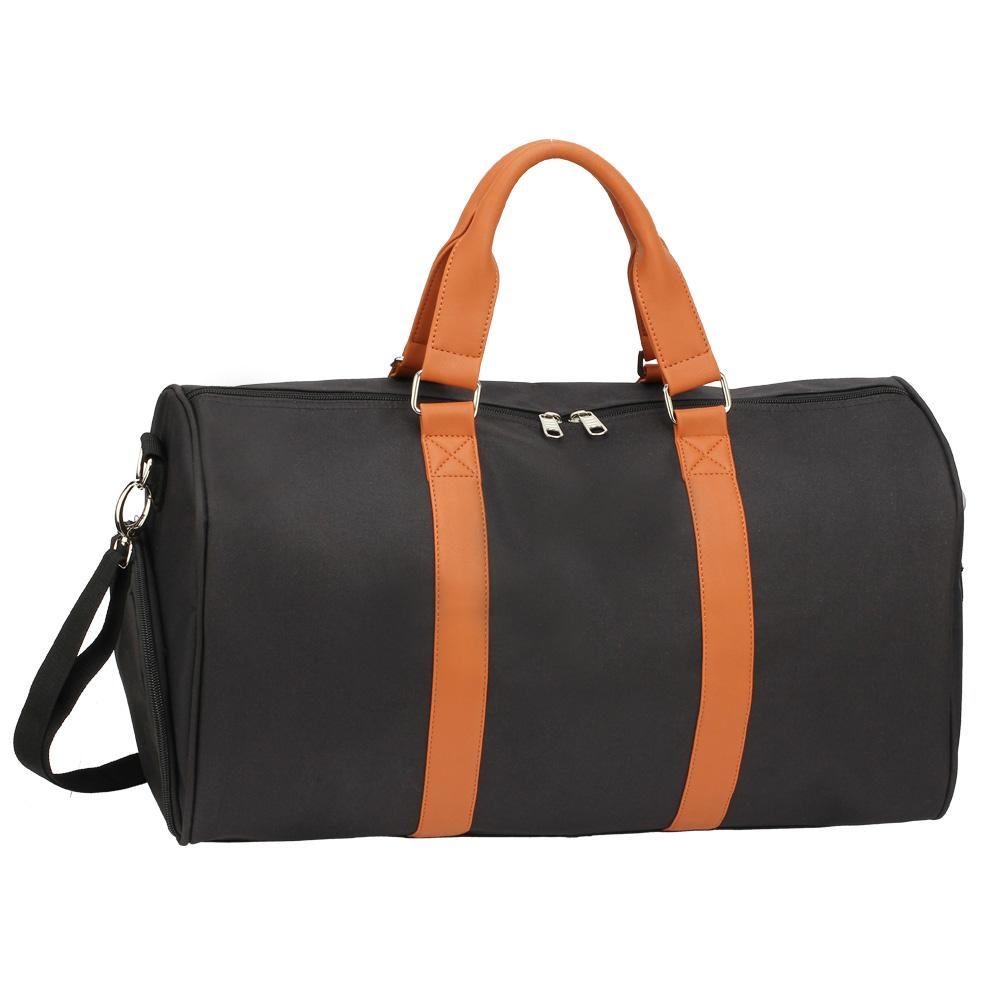 AGT0020  -  Cestovní taška Černá/Hnědá barva