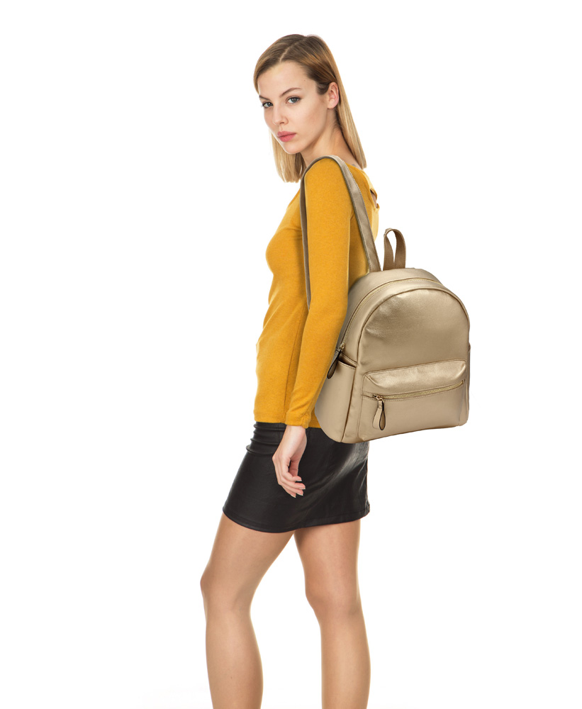 Image result for lsbags gold backpack