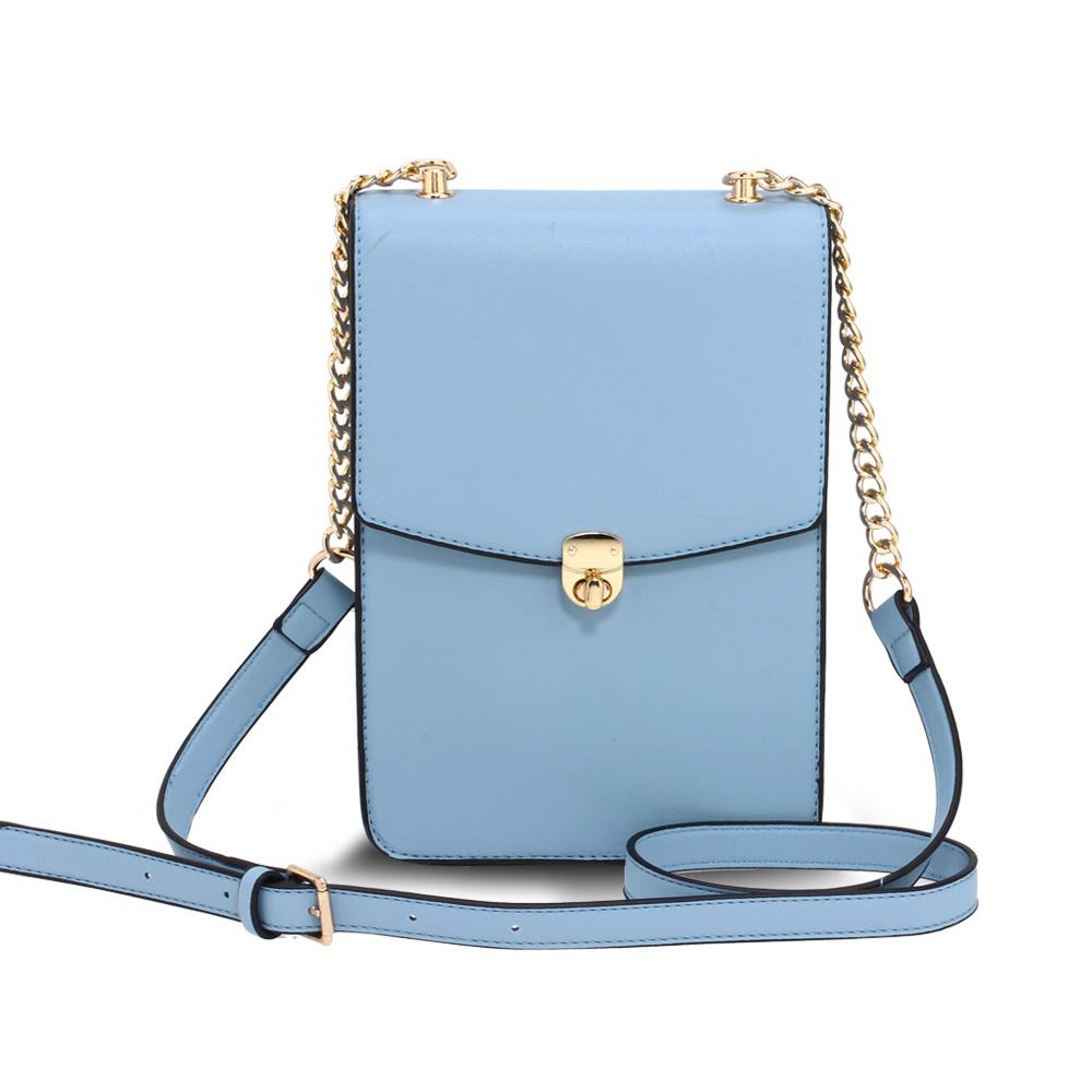 AG00586  -  Kabelka Modrá barva