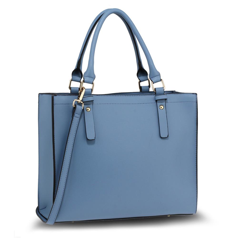 AG00646  -  Kabelka Modrá barva