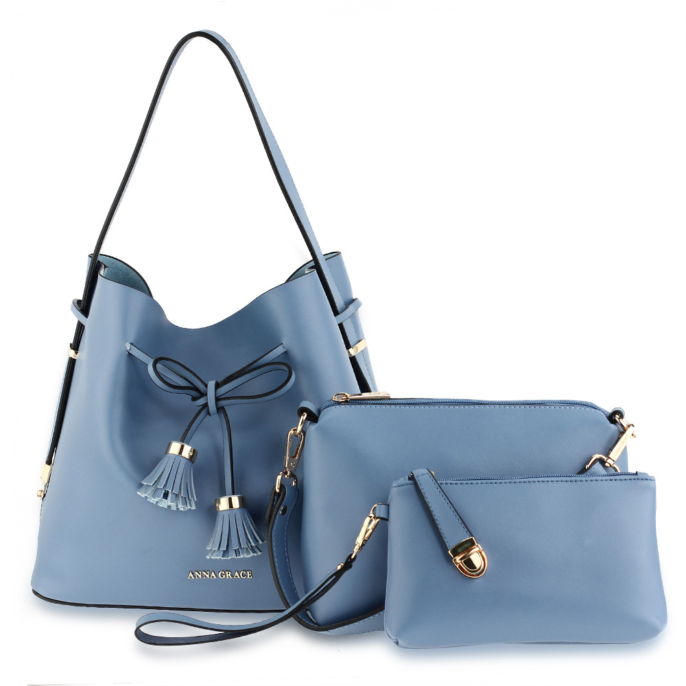 AG00656  -  Kabelka Modrá barva