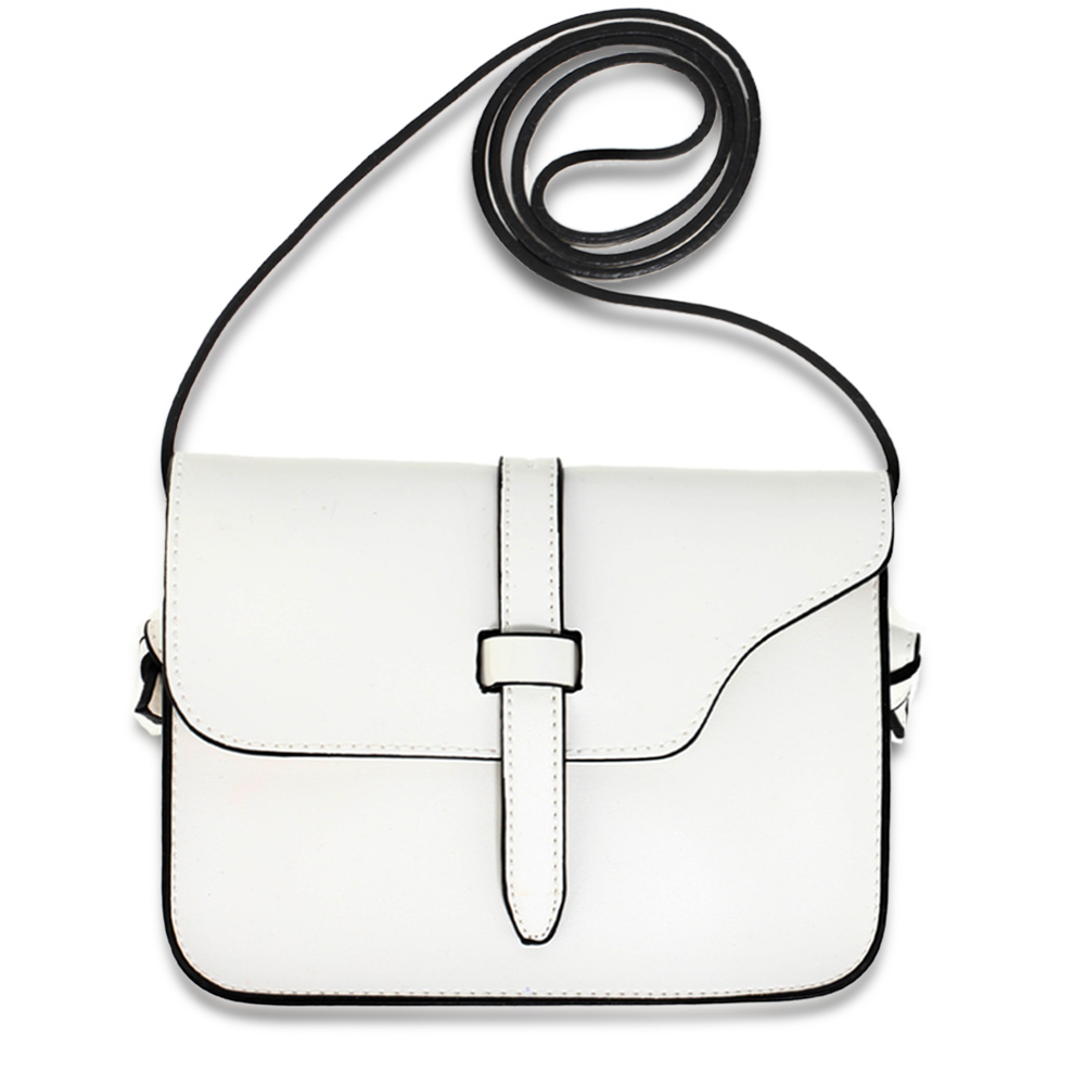 AG00660  -  Kabelka Bílá barva