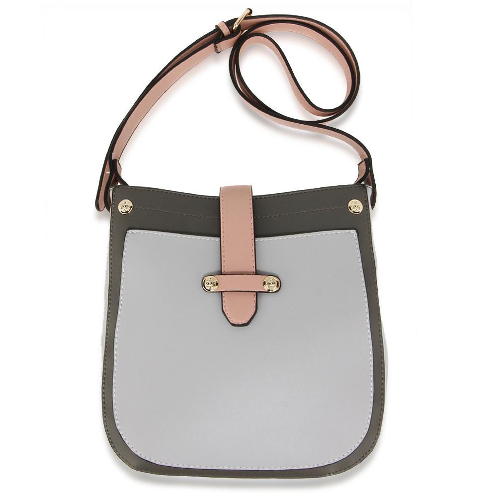 7dc4b1cca4f7 Wholesale Dark Grey / Light Grey / Pink Cross Body Bag School Messenger  Shoulder Bag AG00684