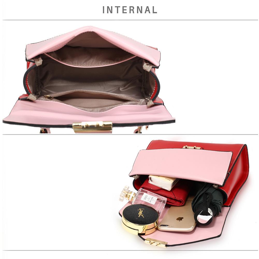 9eedb33dbc46 Wholesale Pink / Burgundy Canvas Cross Body Bag School Messenger ...