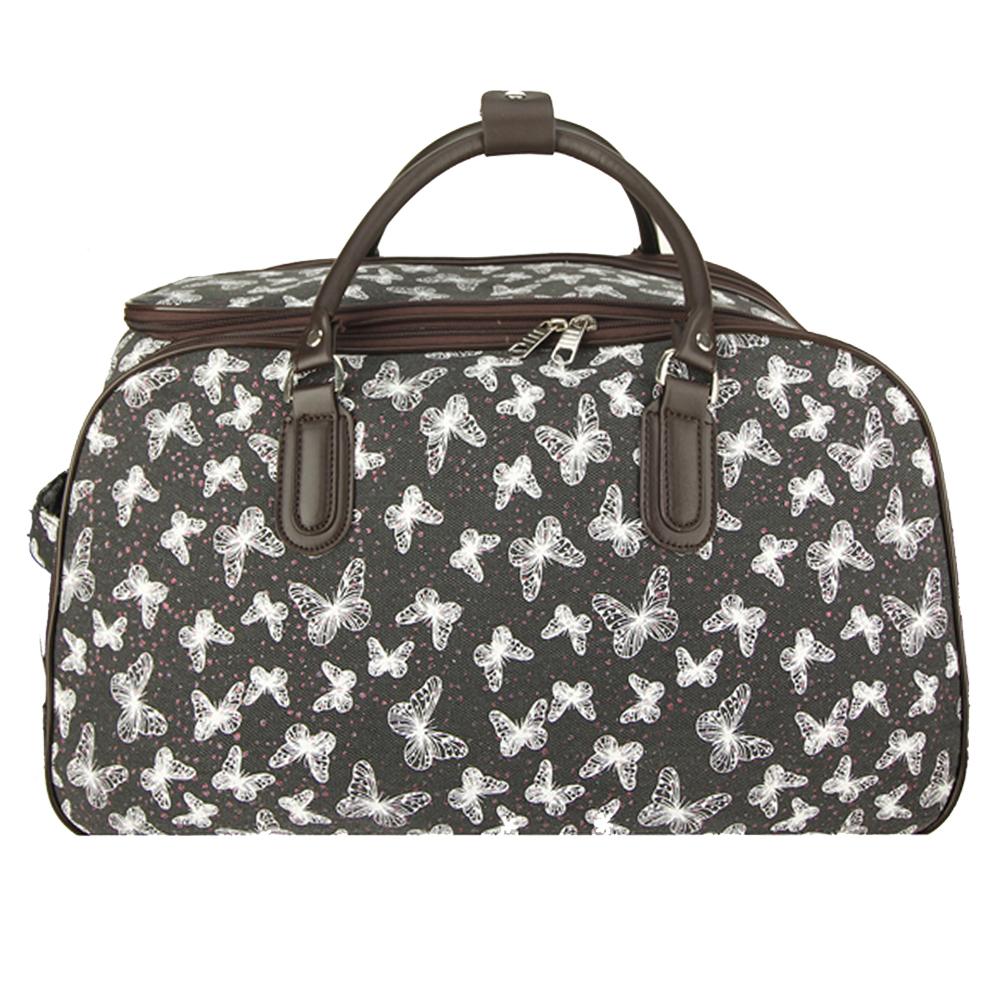 AGT1020  -  Cestovní taška Černá barva