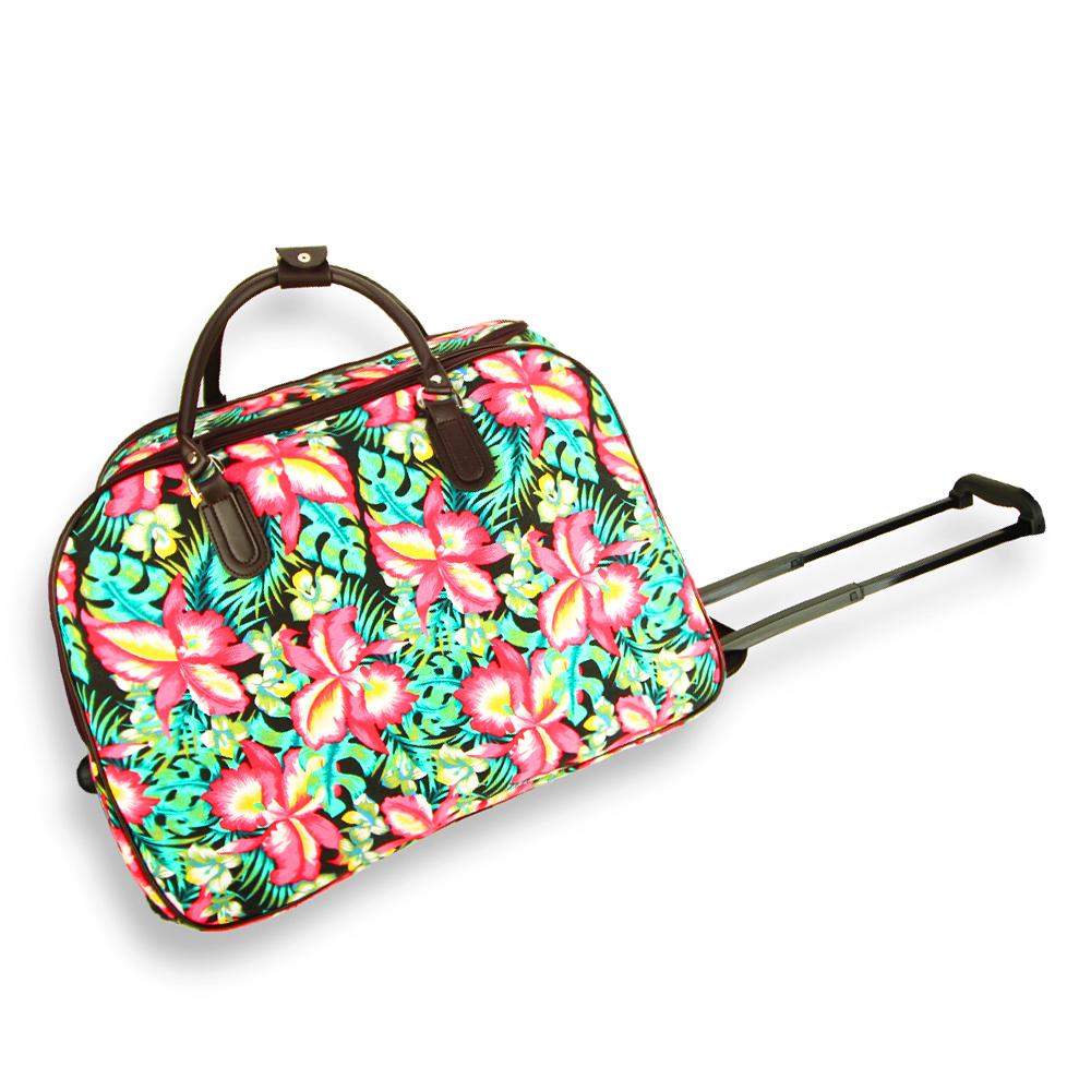 AGT1022  -  Cestovní taška Zelená barva