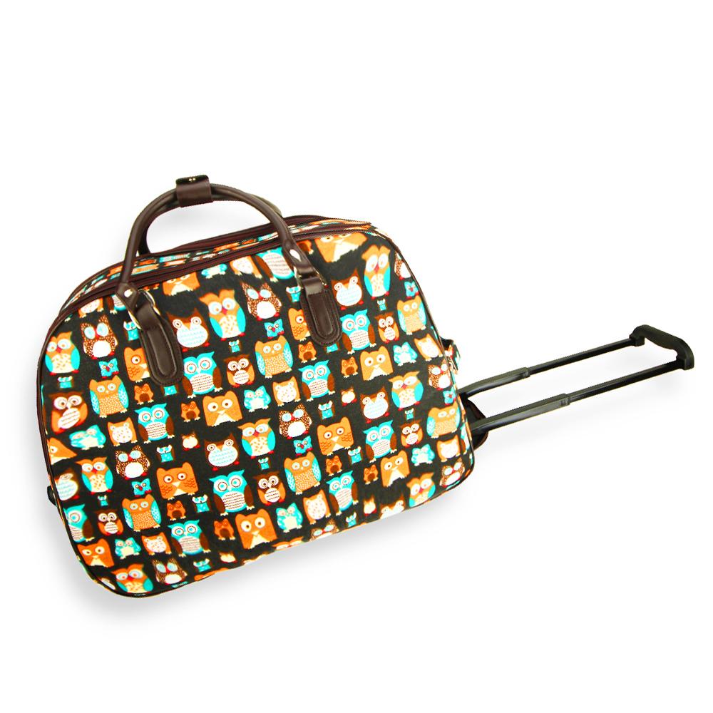 AGT1018  -  Cestovní taška Černá barva