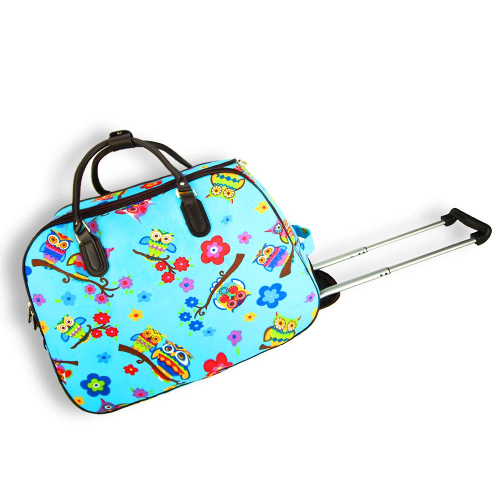 AGT1020  -  Cestovní taška Modrá barva