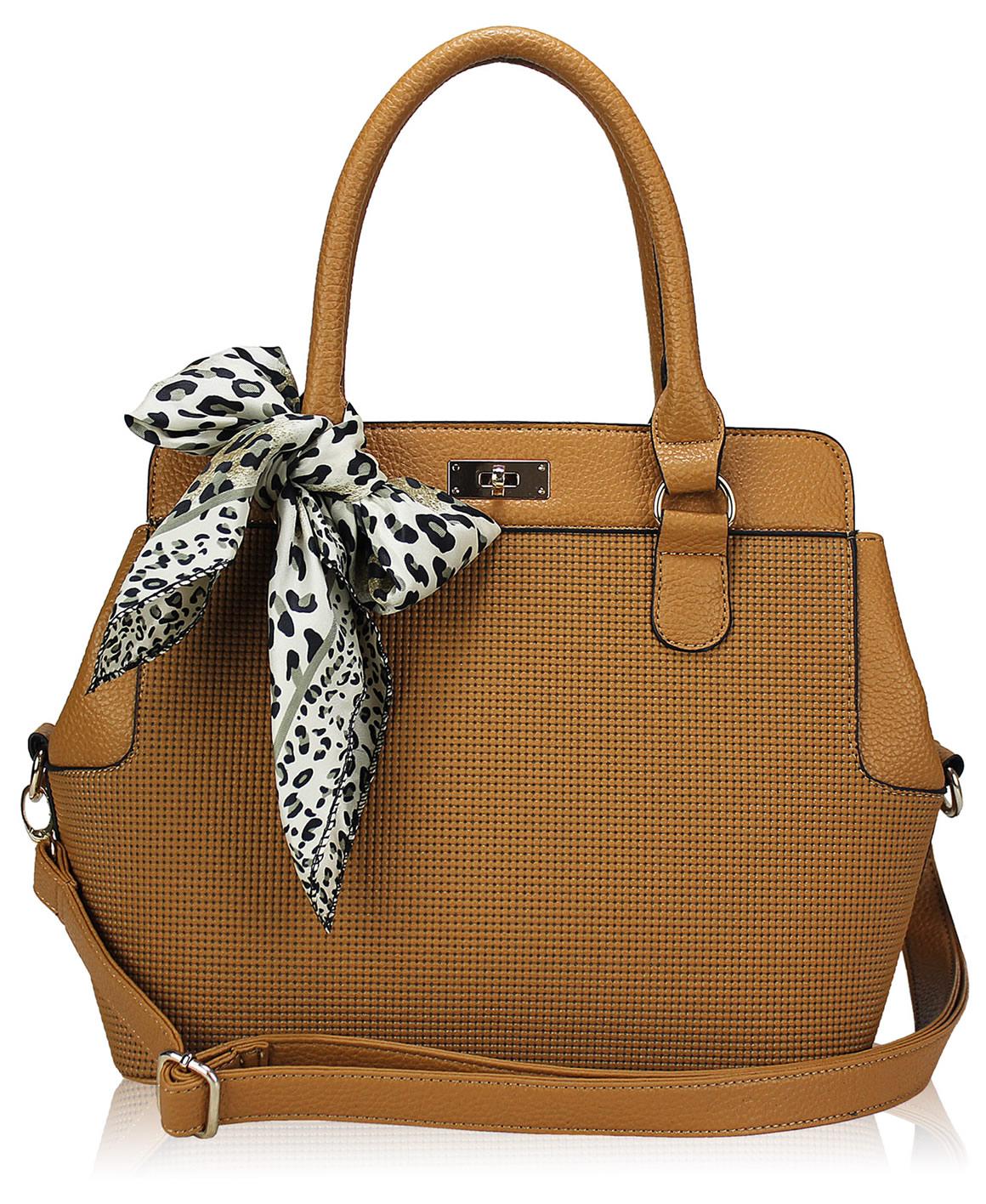 wholesale fashion scarf tote handbag