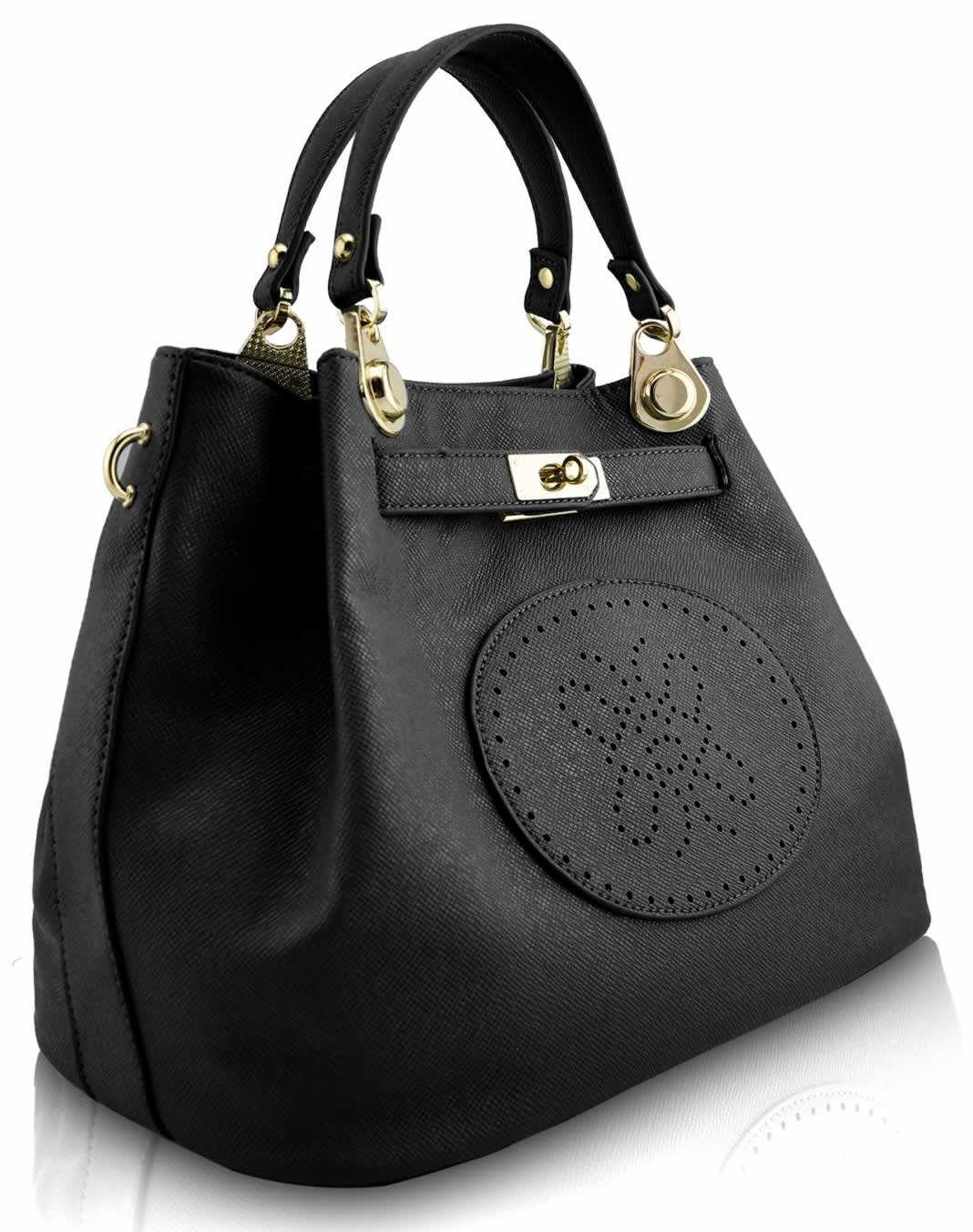 Wholesale Black Tote Bag With Long Strap