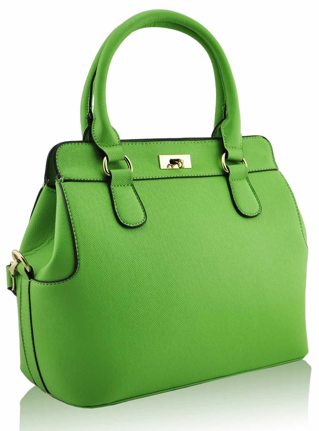 wholesale green fashion tote handbag. Black Bedroom Furniture Sets. Home Design Ideas