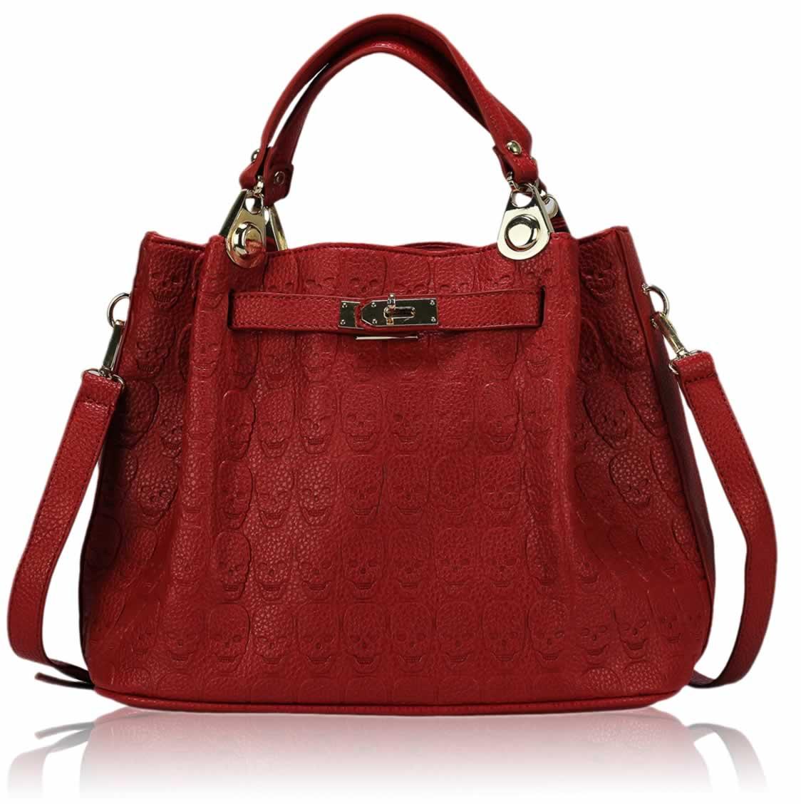 Red Over The Shoulder Bag – Shoulder Travel Bag