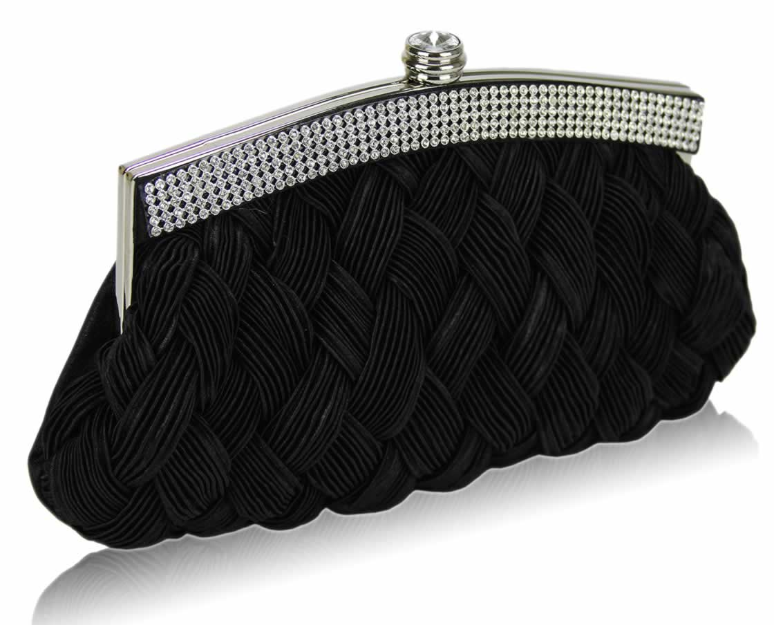 Black Clutch Purses. Clothing. Bags & Accessories. Black Clutch Purses. Showing 48 of results that match your query. Search Product Result. Textured Dot Convertible Wallet Crossbody Bag Clutch Purse with Shoulder Strap, Black Ostrich, by Humble Chic NY. Product Image. Price $