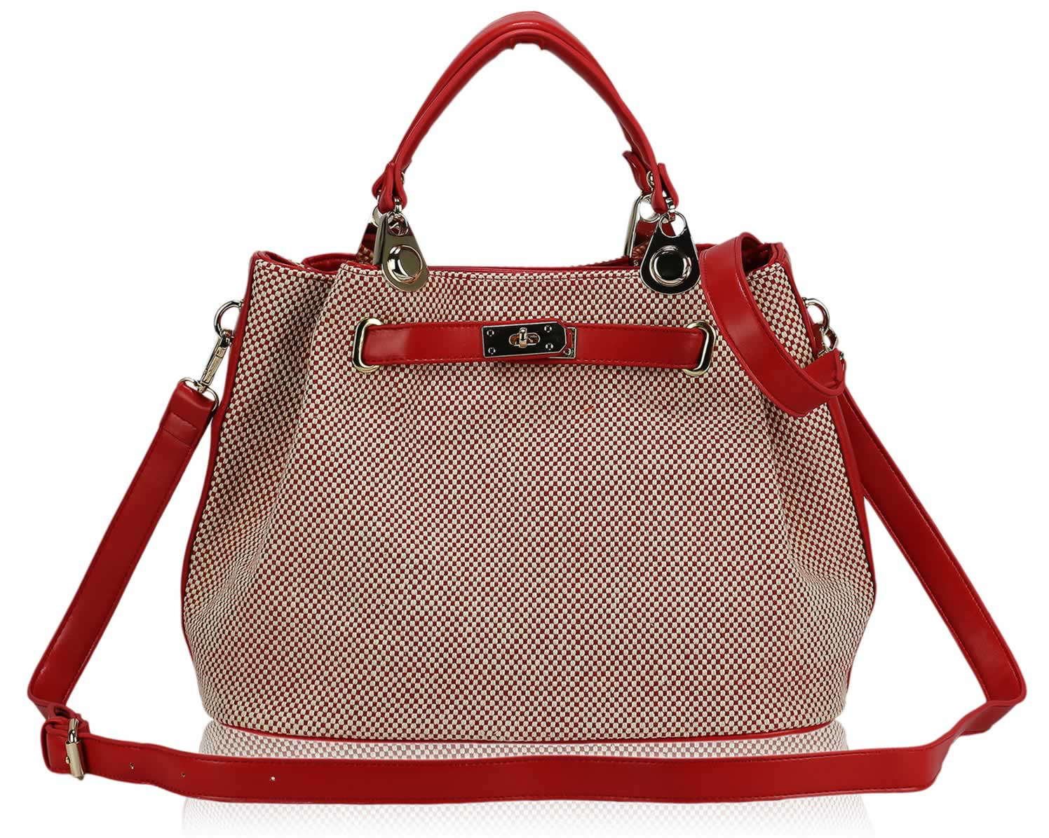 Wholesale Red Tote Bag With Long Strap