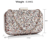 AGC00323 - Silver Sequin Clutch
