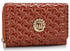 LSP1067 - Marsala Purse/Wallet with Crown Decoration