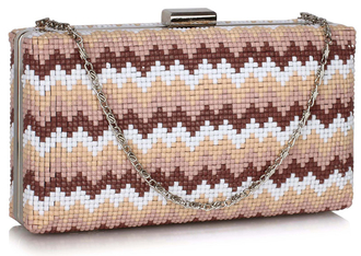 LSE00319 -  Multi E Clutch Bag